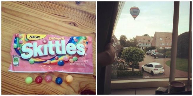 Dessert Skittles, Jamin Utrecht, Amerikaans snoep en luchtballon Barneveld