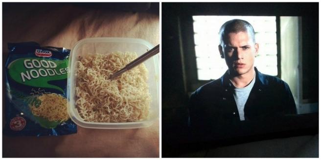 Zakje Noodles Unox Soep, Prison Break, Wentworth Miller, Netflix