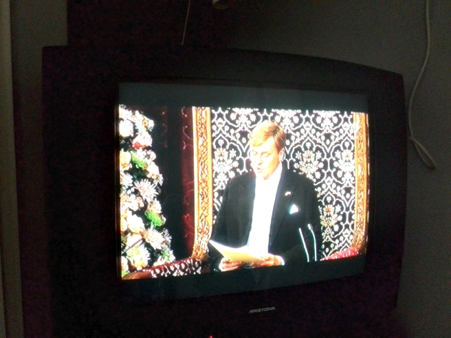 Troonrede Prinsjesdag 16 september 2014