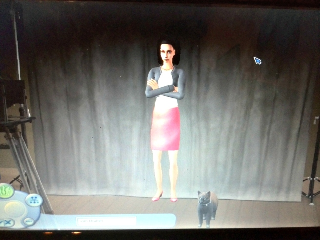 Sims 2 character met kat