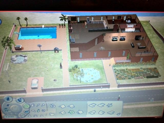Sims 2 huis en tuin