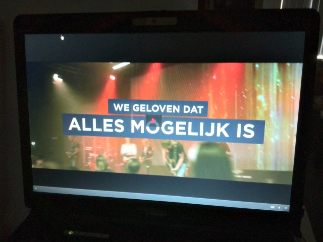 Live stream kerkdienst doorbrekers barneveld