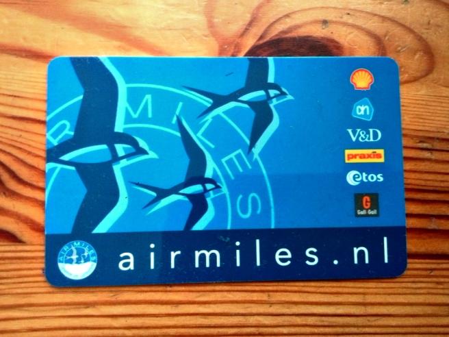 Airmiles kaart
