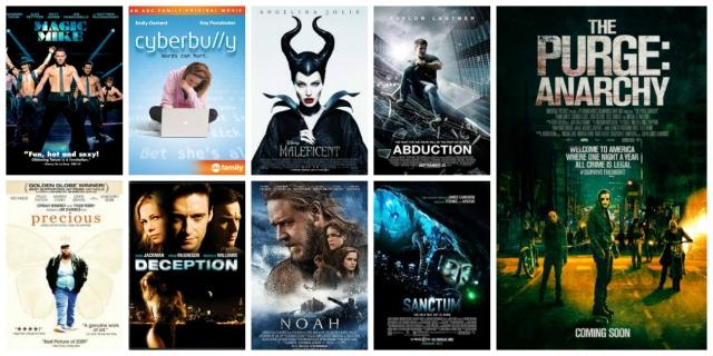 Movie Challenge Juli 2014 tips cinema netflix