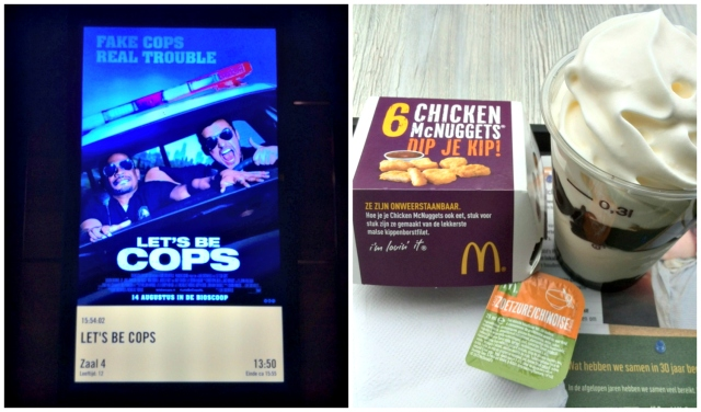 Pathe Amersfoort Lets Be Cops, mac donalds