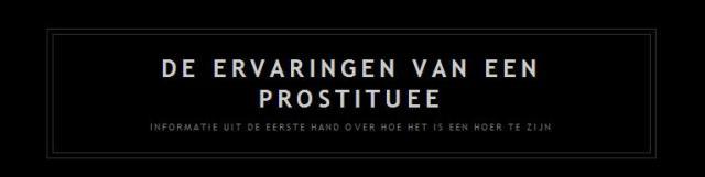 Blog: Ervaringen van een prostituee