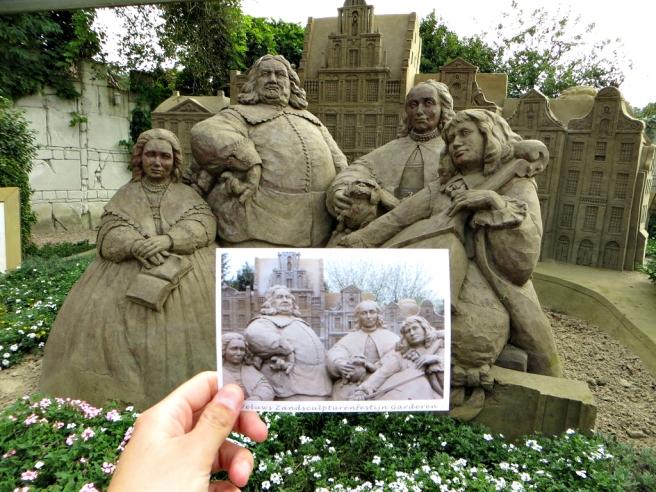 Zandsculpturenfestijn Garderen VOC