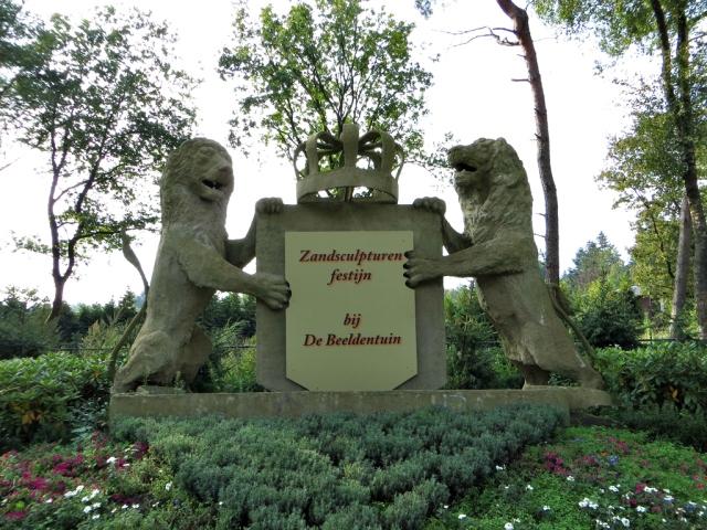 Zandsculpturen festival Garderen