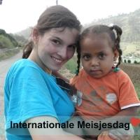 Internationale Meisjesdag   Pixum- Zon in het hart