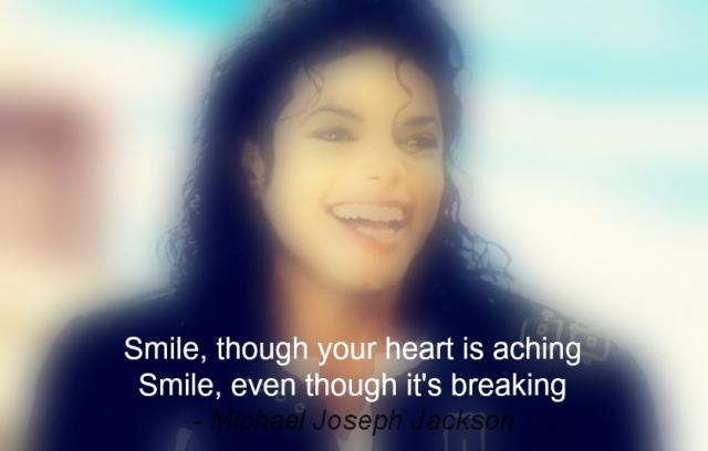Tag 5 Reasons to smile, Michael Jackson, Smile