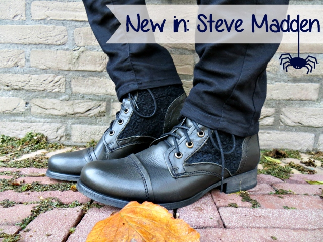 New In – Spartoo | Outfit Steve Madden zwarte boots