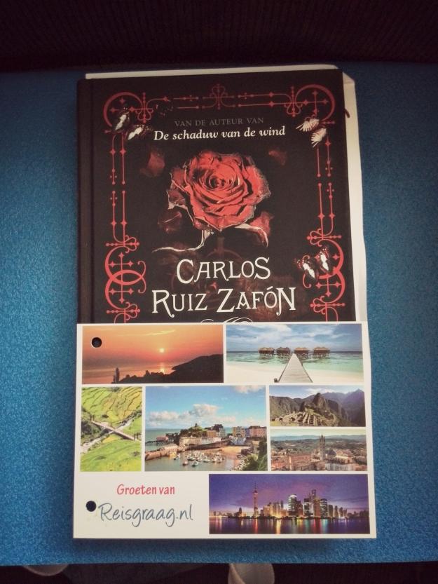 Boek Carlos Ruiz Zafon - De schaduw van de wind