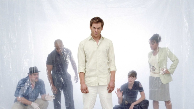 Dexter Morgan Dexter Debra Morgan Angel Batista Maria Laguerta James Doakes Michael Hall Eric King David Zayas Lauren Velez Jennifer Carpenter Situation Murder Ritual Style X Hd Wallpaper