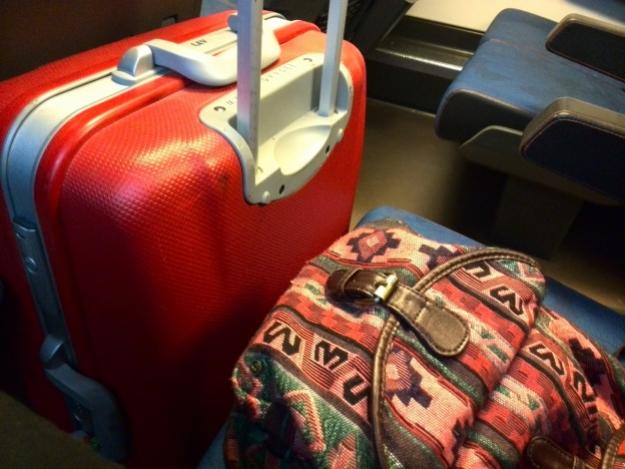 Treinreizen Amersfoort Schiphol met koffer