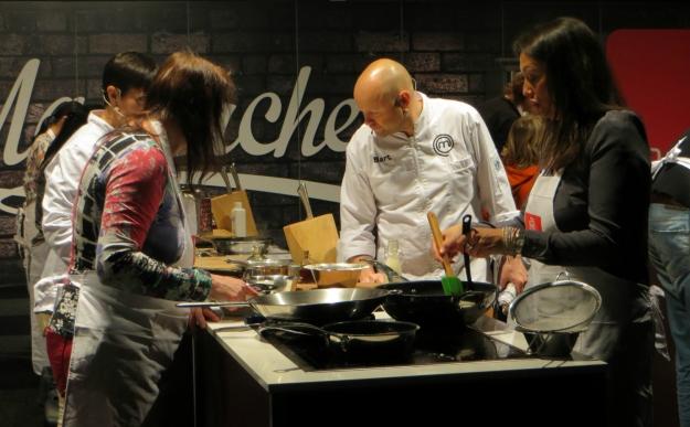 Taste of Christmas; een culinair kerstevent in Jaarbeurs Utrecht 12 tot 14 december 2014. Masterchef koken.