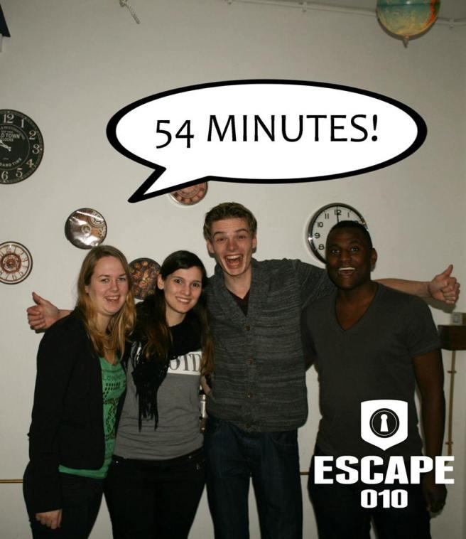 Review Escape 10 Rotterdam, kamer Timescape