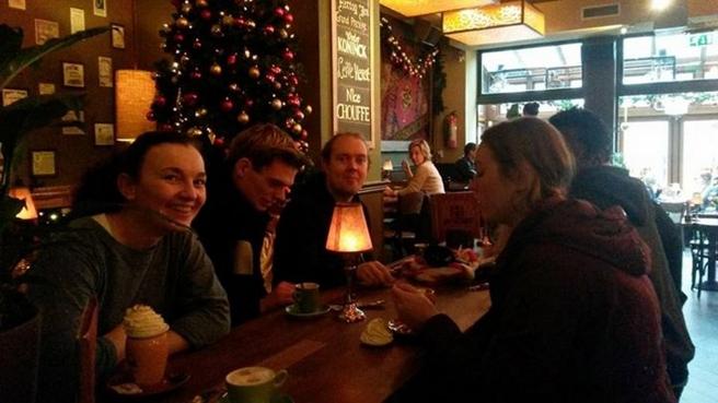 Chocomelk drinken cafe Breda