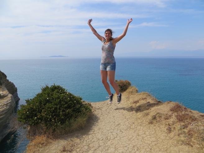 11. Jump rock Sidari