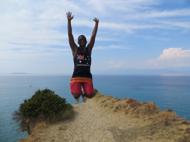 12. Jump Rock Sidari