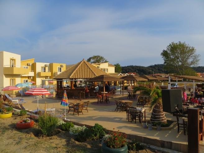 16. Damour Sidari restaurant beach