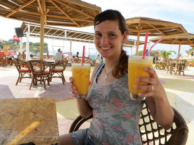 19. Damour Sidari restaurant beach