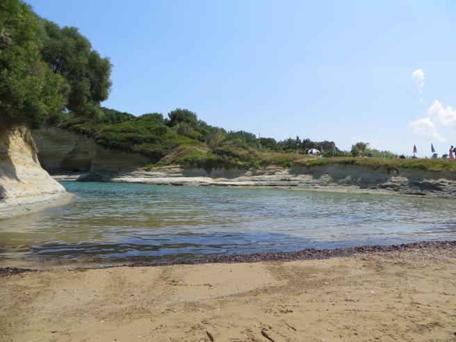 2. Eerste strand Sidari