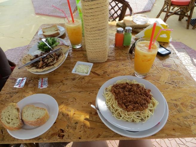 20. Damour Sidari restaurant beach