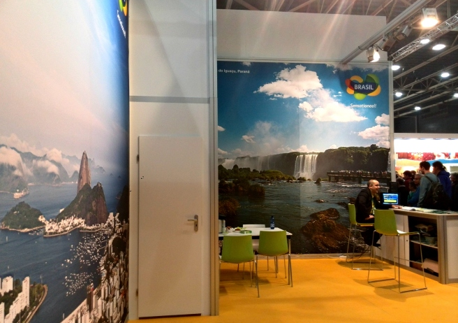 Brasil stand  vakantiebeurs 2015