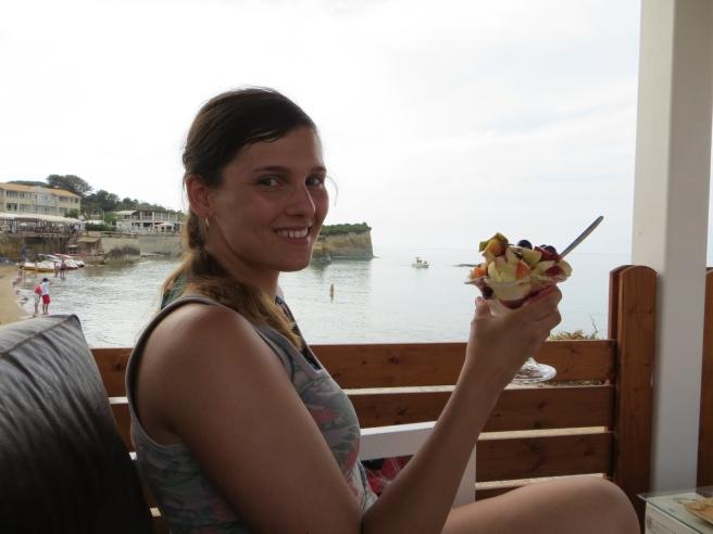 21. Damour Sidari restaurant beach