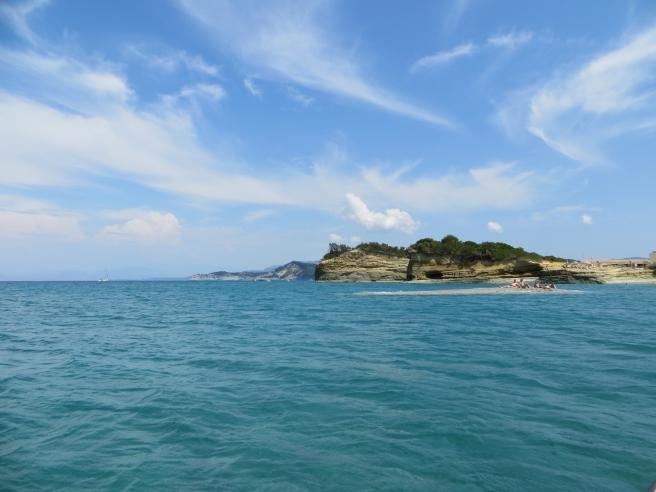 6. Uitzicht waterfiets Sidari