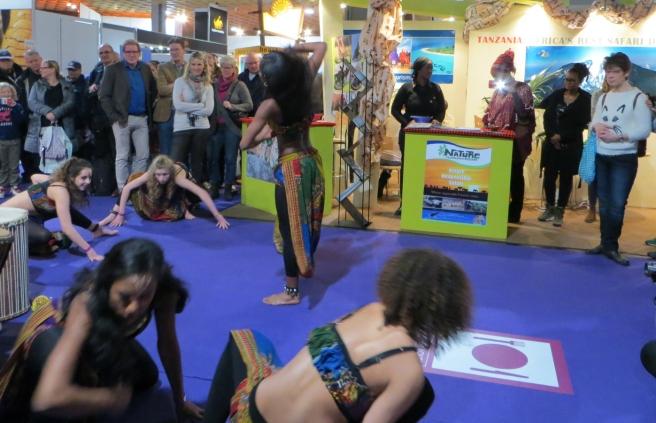 Afrikaanse Danseressen Vakantiebeurs 2015