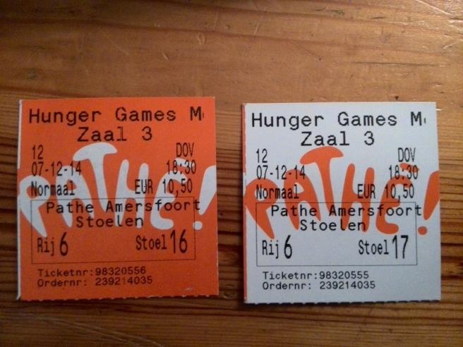 Hunger Games MockingJay Part I - Amersfoort