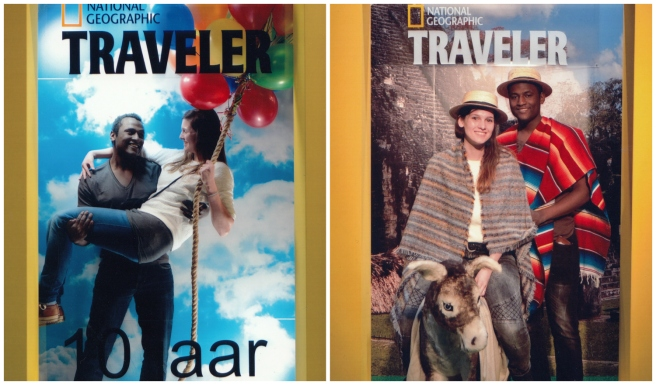 ng traveler vakantiebeurs photobooth