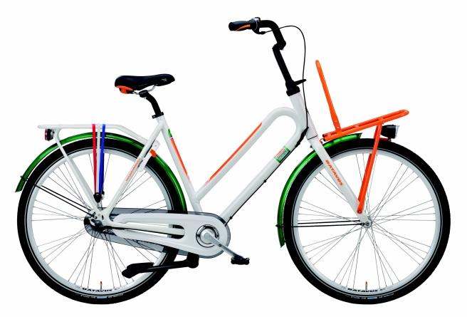 Winnen postcodeloterij fiets koffietijd televisie foto