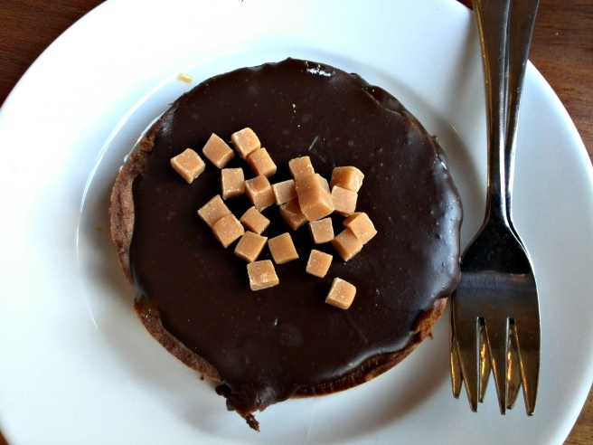 Caramel chocoladetaartje V&D La Place