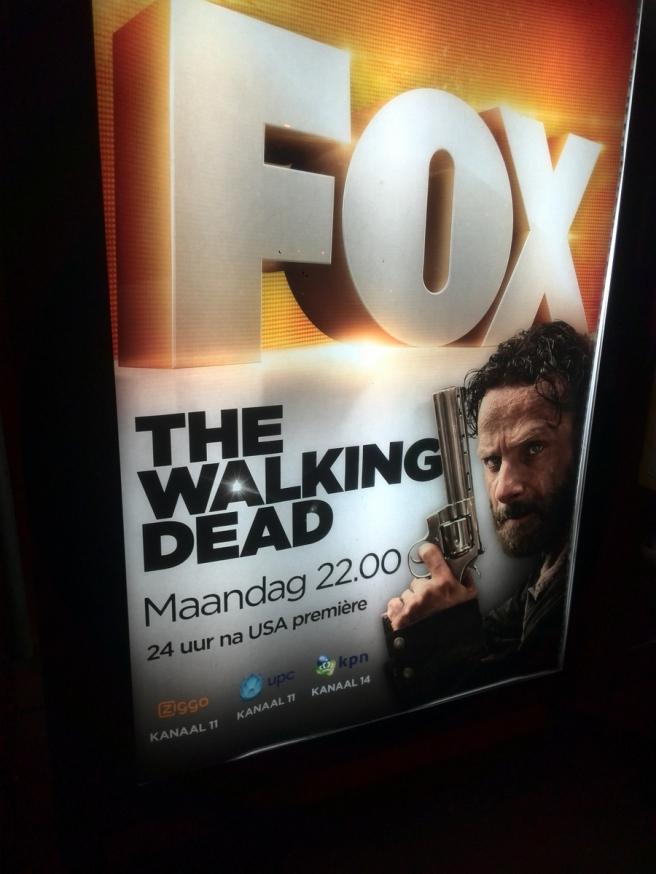 The Walking Dead Fox maandag 10 februari 2015