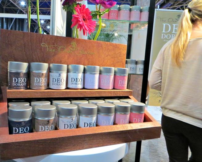 Deodorant The Ohm Collection - Nationale Gezondheidsbeurs 2015 Utrecht