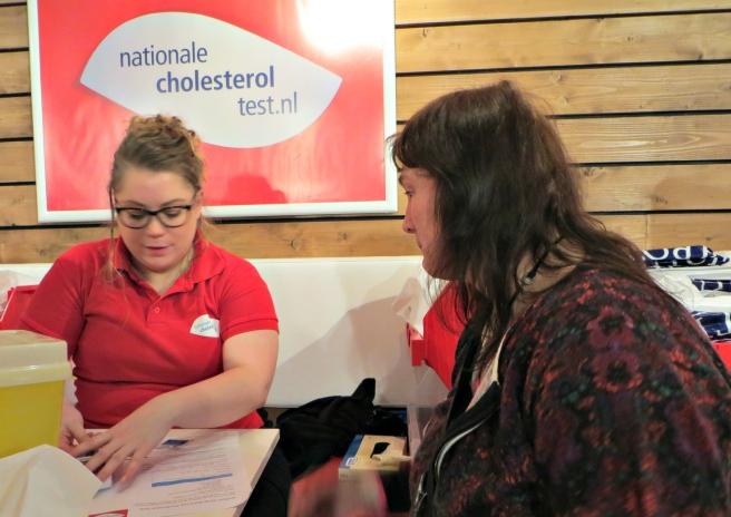 Cholesterol testen - Nationale Gezondheidsbeurs 2015 Utrecht