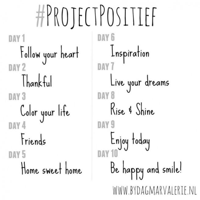 Challenge | #ProjectPositief Instagram 2.0