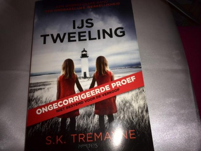 SK Tremayne - IJstweeling thriller