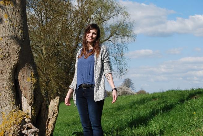 Vrolijke outfitfoto's maken met Annelise in Brabant