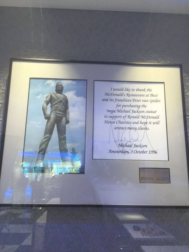 Michael Jackson History Beeld in Best