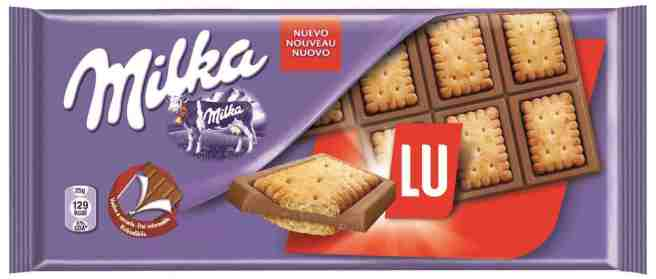 Milka Lu Chocolade