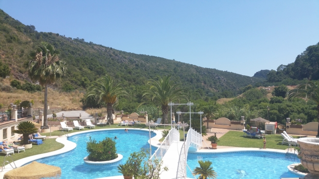 Gran Hotel Benahavis view