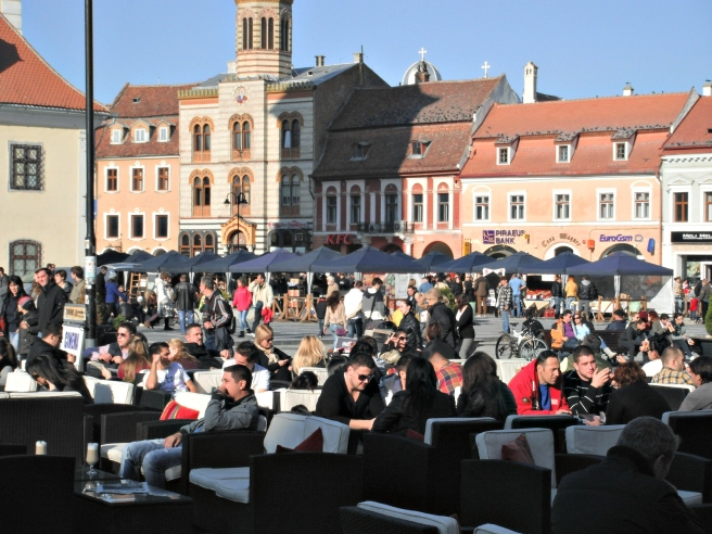 Tips Brasov: stadhuisplein