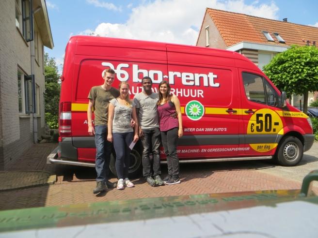 Verhuizen Bo-Rent ervaring bus huren (sprinter)