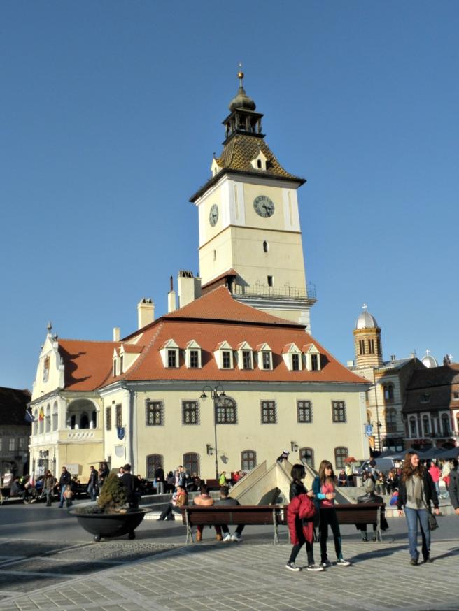 Tips Brasov: stadhuisplein, oude stadhuis
