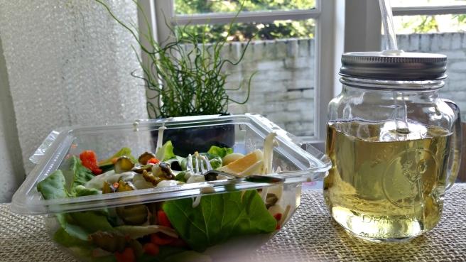 Salade lunch, supermarkt Plus