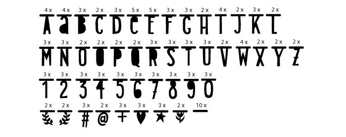 letterslinger zwart 1